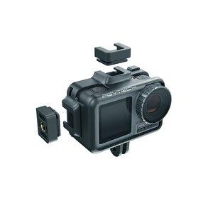 Image 3 - Pgytech osmo 액션 카메라 케이지 보호 케이스 dji osmo 액션 스포츠 카메라 프레임 커버 쉘 하우징 액세서리