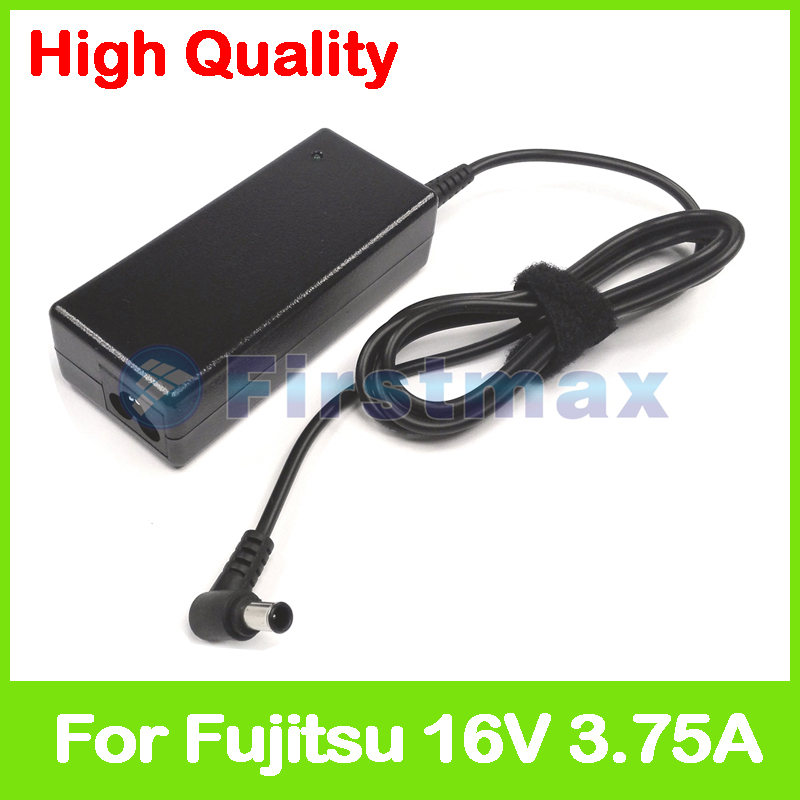 16V 3.75A 60W laptop AC adapter charger for Fujitsu FMV-Stylistic TB10/B TB10/S TB11/B TB11/R TB11/S TB12/B TB12/R TB12/S TB15/B