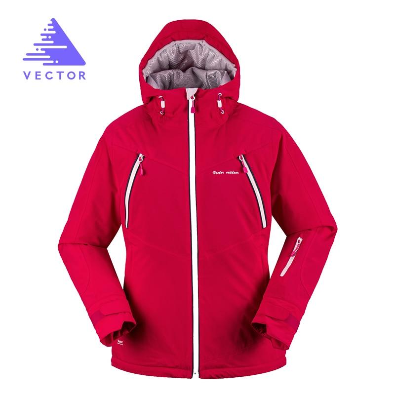 VECTOR hiver veste extérieure femmes thermique coupe-vent imperméable veste femme Camping randonnée vestes Ski coupe-vent 60027