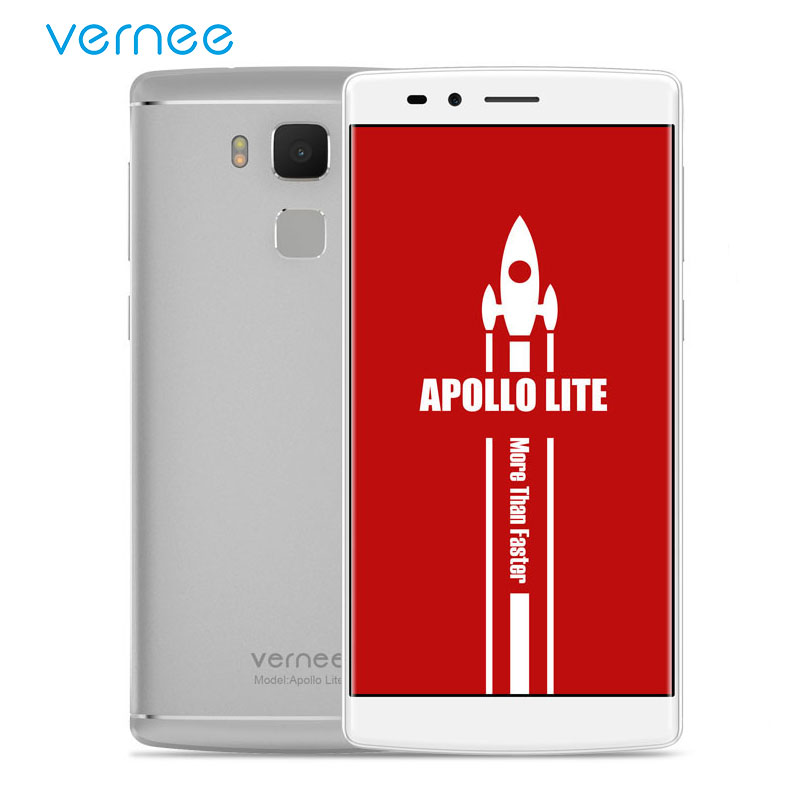 vernee Apollo Lite 5 5 FHD Mobile Phone Helio X20 Deca Core Android 6 0 Cell