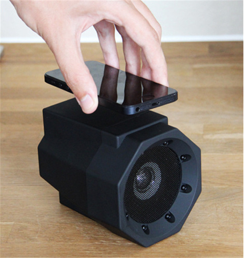 Magic Boom Box Sound Touc Speaker Mini Inductive Mobile Phone Boombox Speakers PC Music Subwoofer Loudspeaker 2
