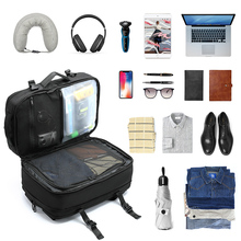 SHIELDON Laptop Backpack Expandable , 23L-38L Carry-on Anti-Theft Water Repellent Multipurpose Travel Bag Fits 17 Inch Laptop сумка рюкзак thule crossover 38l rolling carry on на колесах синий 3201503