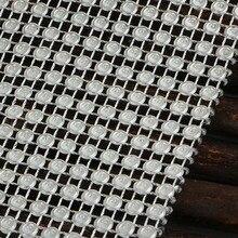 11.8см * 90см Алмазная сетка Рулон вечеринка по случаю дня рождения Свадьба DIY Украшения стол