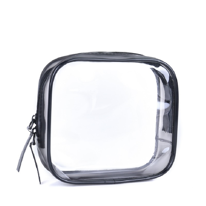 Transparent Toiletry Bag Beauty Storage Organizer Makeup Zipper Waterproof Cosmetic Pouch Purse Bags