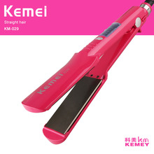 Cheapest prices various hair tools LED display Styling Tools Professional hair straightener comb Kemei 029