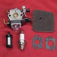 CARBURETOR Air Filter For STIHL FS38 FS45 FS55 FC55 FS74 FS75 FS76 FS80 TRIMMER