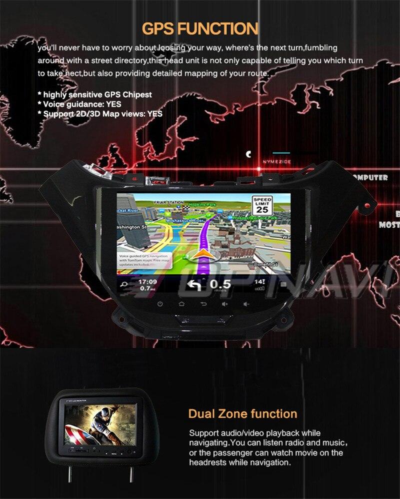 car 2din tablet For Chevrolet Malibu 2016
