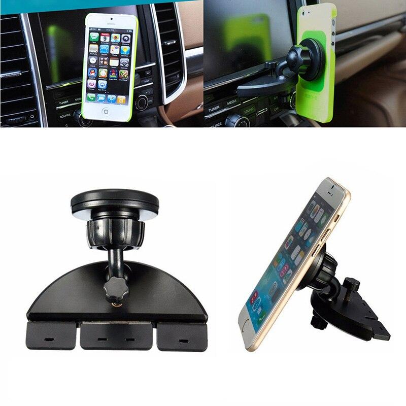 Universal Magnetic Car CD Dash Slot Mount Holder Cradle 360 Dgree For Phone GPS Tablet cell phone dash car holder