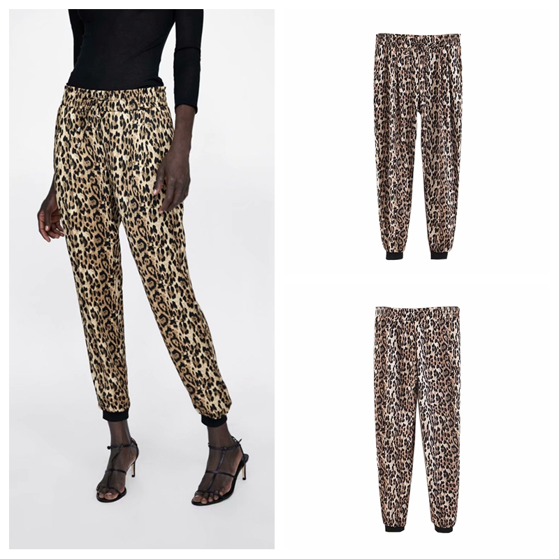 INDJXND Frauen Sommer Casual Kordelzug Strand Leopard Gedruckt Shorts 2018 Plus Größe S-XL Shorts frauen frauen Casual Lose Kurze Hosen