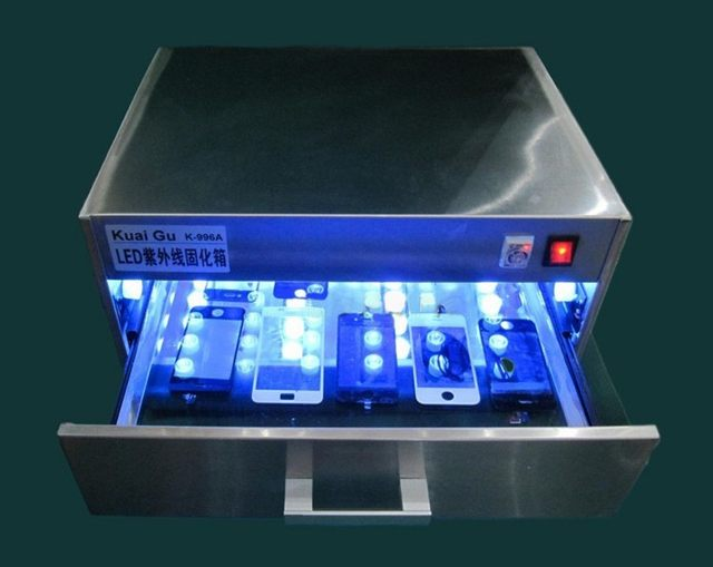 96W LED UV Curing Lamp UV Curing Box Oven UV Glue Dryer 110V 240V For LCD  Screen Refurbishment