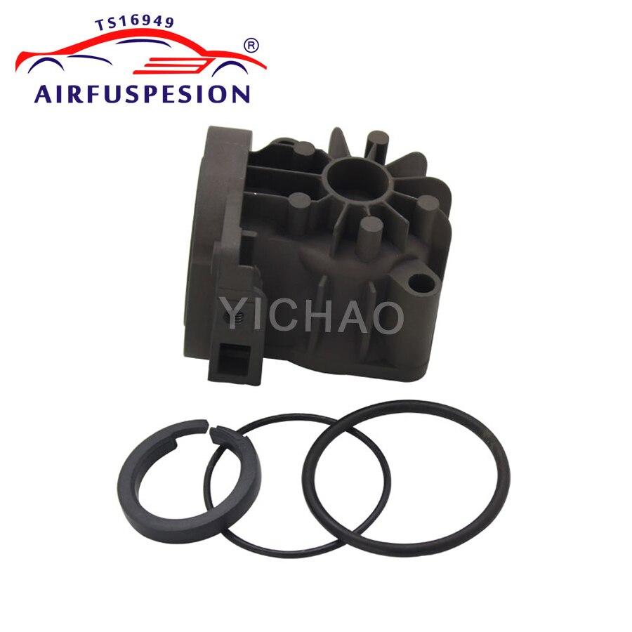 Cabeça do Cilindro Compressor de Suspensão a ar Anéis O Anel de Pistão Para Audi Allroad A6 C5 A8 D3 W220 W211 XJ8 XJ6 2113200304 4E0616005F