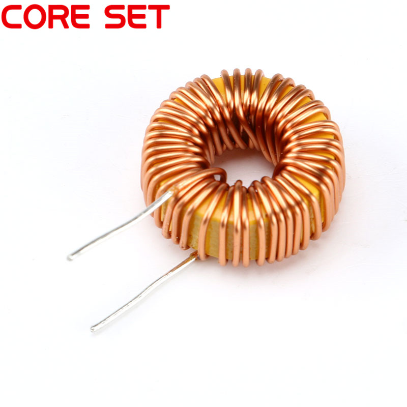 10pcs/lot Naked 100UH 3A Magnetic Induction Coil Toroidal inductor Winding Inductance For LM2596 High Quality