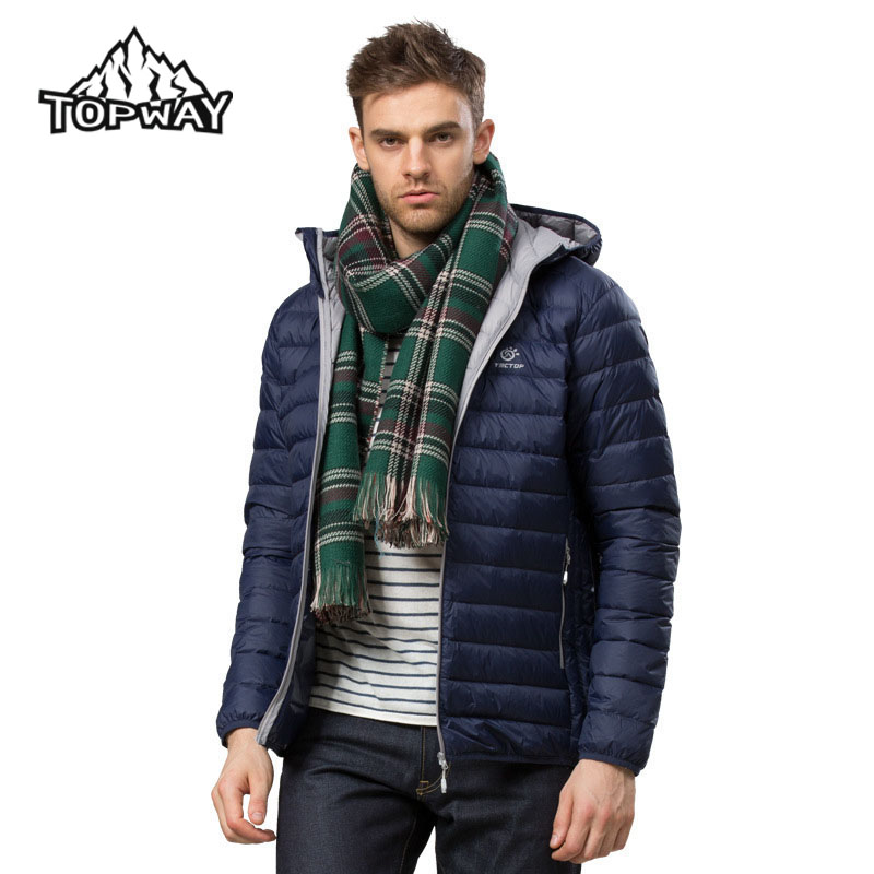 New Fashion Puffer Lightweight Ultra light Duck Down Jacket Men ...