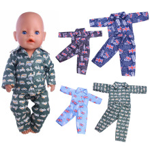 Fleta new 43cm  doll clothes 5 Style pajamas for n1153-n1157