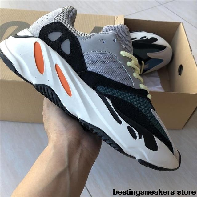 61d1dd4d55fd 2019 Hot Sale New Original Men Sneakers Yeezys Air 350 boost V2 Women  Running Sport Shoes yeezys 700 boost 350 Wave Runner