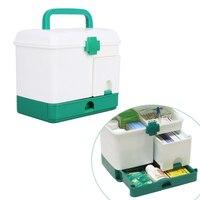 Bardzo duże gospodarstwa domowego wielowarstwowa first aid kit wielofunkcyjne pole medycyny 23.5X17X20.3 cm Pudełka Do Przechowywania