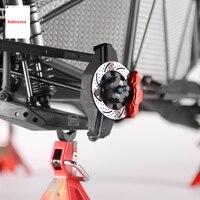GRC UDR Wheel Hex Hub Brake Disc Assembly Kit Wheel Rim Brake Disc + Caliper for 1/7 Traxxas UDR Unlimited Desert Racer RC Cars