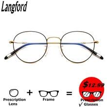 eyeglasses frame for women eyewear clear lens glasses fashion glasses vintage round circle women Myopia Optical Transparent Glas