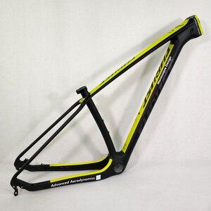 Image 2 - THRUST 탄소 프레임 29er 15 17 19 탄소 mtb 프레임 29 er BSA BB30 자전거 자전거 프레임 최대로드 250kg 2 년 보증 12 색