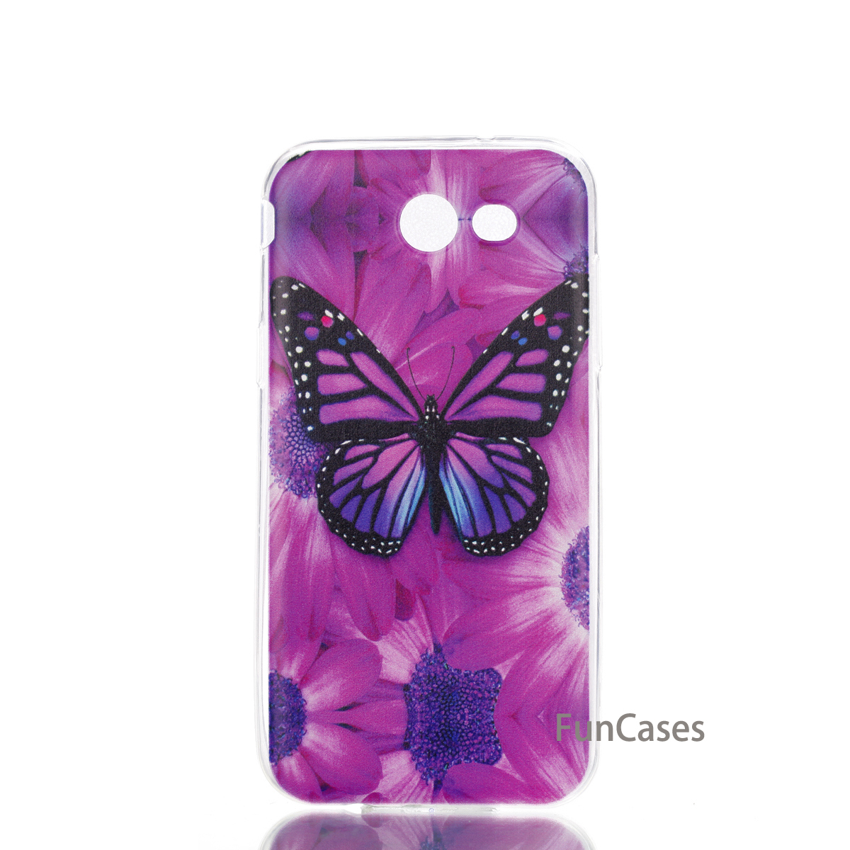 MKSUP Butterfly Case sFor Etui Samsung J3 2017 US Soft TPU Phone Case Caso Squishy Mobile Phone Case Samsung J327 US Quente