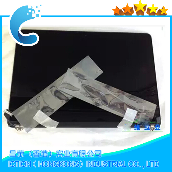 A1398 Original new For MacBook Pro 15 A1398 Retina LCD Screen Assembly 2012 MC975 MC976 original new a1398 lcd screen lid for apple macbook pro 15 retina a1398 lcd back cover 2012 2013 2014 2015