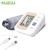 Automatic Digital Arm Blood Pressure Monitor Heart Test Health Care English Broadcast Tonometer Cuff Upper Arm Medical Equipment