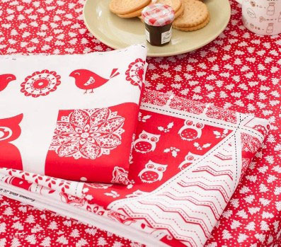 Free shipping 100% cotton Christmas banner fabric 90*110cm  30different falg designs christmas design fabric