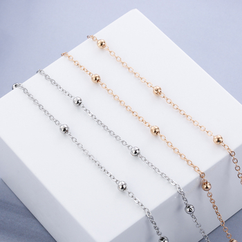 1PC 2019 Summer NEW Fashion Chic Womens Gold Silver Sunglasses Chains Reading Beaded Glasses Chain Eyewear Cord Lanyard Necklace