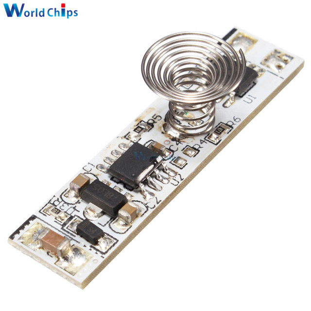 Touch Switch Capacitive Sensor Module 9V-24V 30W 3A LED Dimming Control Lamps Active Components Three Mode Hard Light Controller