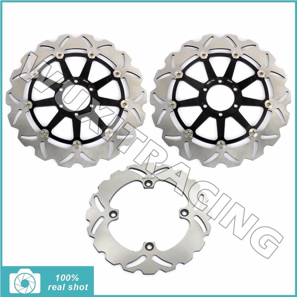 Front rear brake discs rotors for ducati 748 s biposto r sp sps 95-02 916 biposto sps 94-98 996 bipos