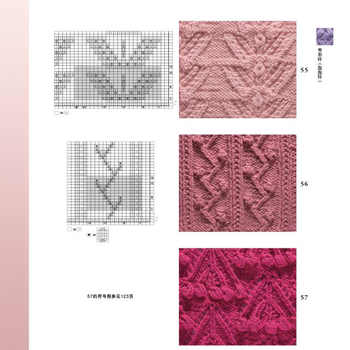 Knitting Patterns Book 2 Knitting Needle Symbol 125 and Weaving Patterns 125 Knitting Basic Tutorial Books Pattern Technique Tip