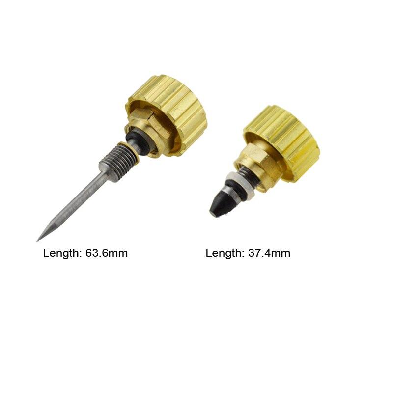 Купить с кэшбэком Needle Propane Torch Valve Stem Acetylene Switch Oxygen Acetylene Adjustment Hand Wheel Preheating Oxyge Valves