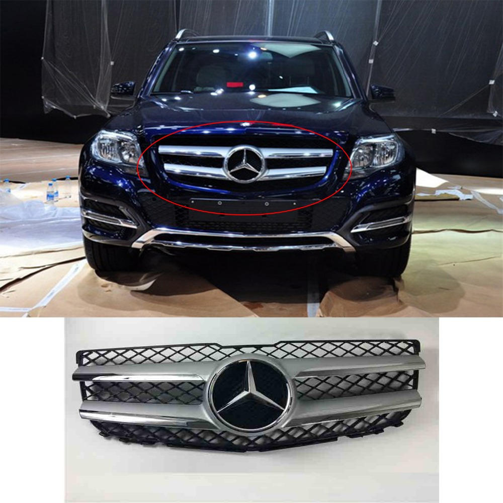 Front racing grille for mercedes benz w204 glk200 glk260 for Mercedes benz spare parts price list