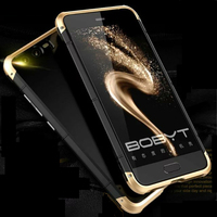 Luxury Original Brand BOBYT Aluminum Metal Frame PC Hard Armor Anti Knock Back Cover Cases For