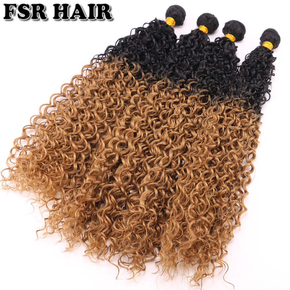 Fsr 28 30 Over Length Synthetic Hair Weave Kinky Curly Hair