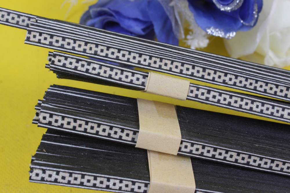 LUTHIER PURFLING 58# 30 strip LUTHIER PURFLING BINDING MARQUETRY INLAY New Guitar Parts Size : 640 x 2.5 x 1.0mmmm 学前儿童心理与教育120问