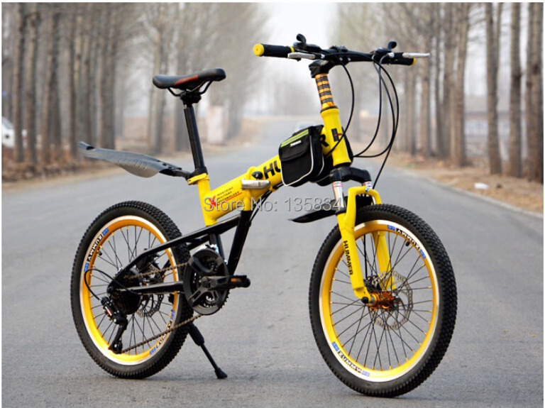 Hummer Disc Break Mini Child Mountain Bicycle 20 Carbon Steel