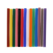 5Pcs/Set Hot Melt Glue Stick Colorful 7x100mm Adhesive for DIY Craft Toy Repair Tool