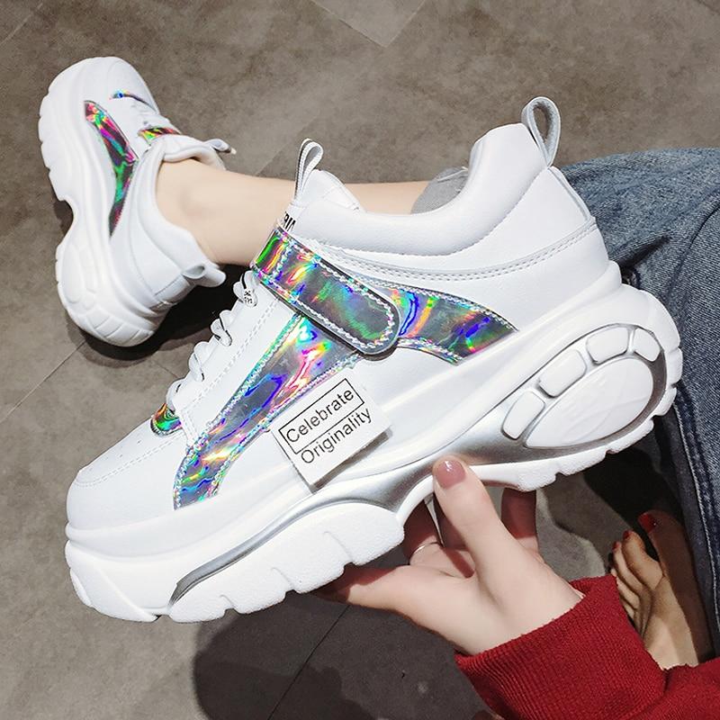 Alto Mocasines Zapatos Tacón Mujer Para Con De Plataforma Casuales hdxBrCtsQ