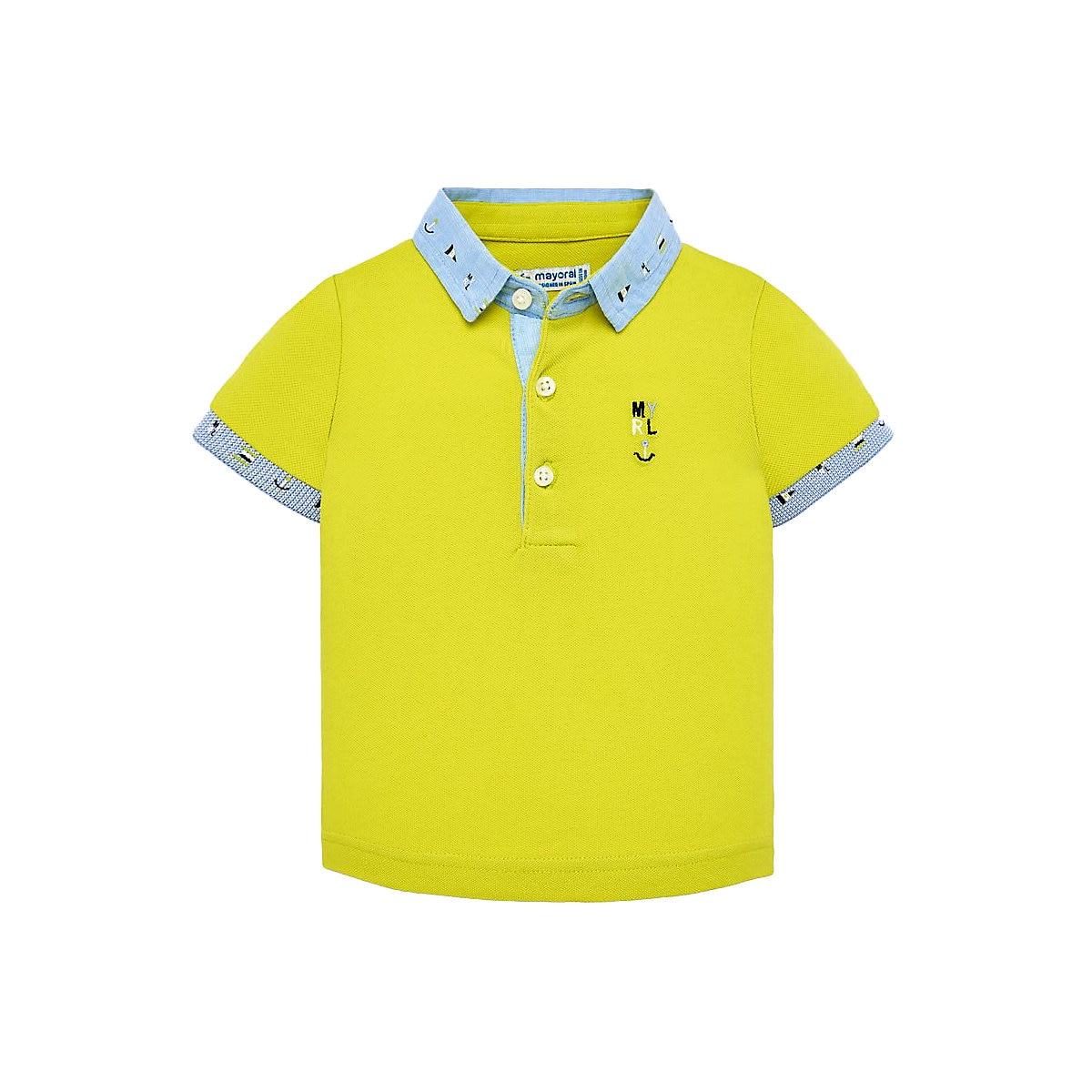 MAYORAL Polo Shirts 10693158 Children Clothing T-shirt Shirt The Print For Boys