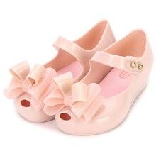 b53381a1865b 2019 New Mini melissa Design Summer Girls sandals Shoes Breathable Sandals  Children Sandals Lovely Mini melissa