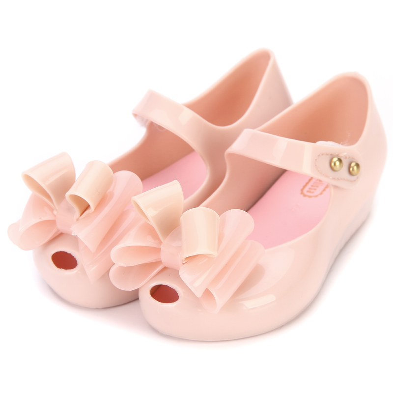 2018 New Mini melissa Design Summer Girls sandals Shoes Breathable Sandals  Children Sandals Lovely Mini melissa Sandals 9e299c7de9f6