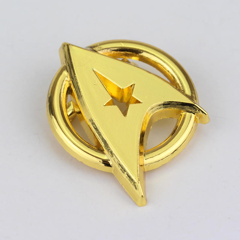 Star Trek Gold Plated Brooch