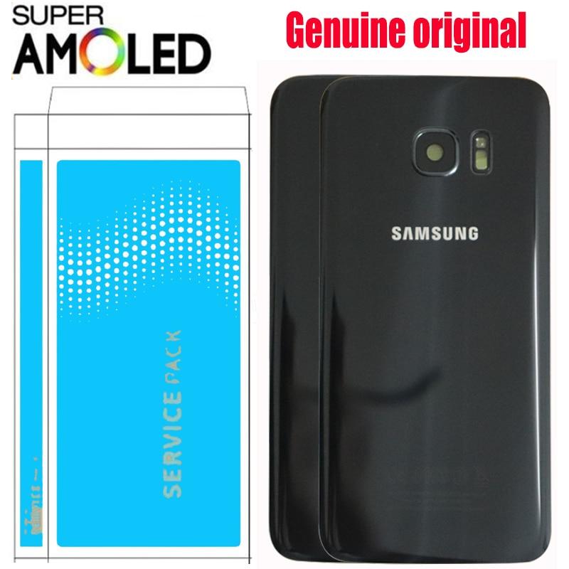 ORIGINAL 5 5 for SAMSUNG Galaxy S7 Edge G935 G935F Battery Back Cover Glass Housing Replacement Innrech Market.com