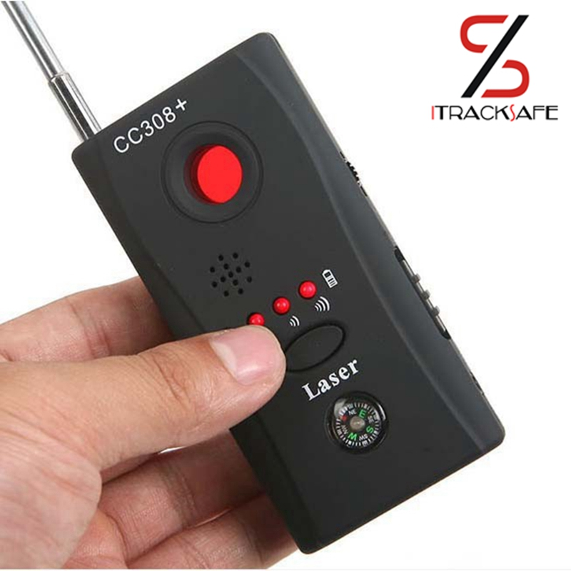 Ny Full Range Wireless Camera Mobiltelefon GPS Bug RF Signal Detector Finder Gratis frakt