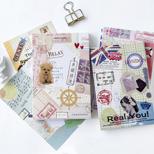 30Pcs/lot Kawaii Collage time postcard Set Greeting Card Envelope Gift Birthday DIY gifts