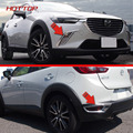 CX-3 Front & Rear Fog Tampa Luz Para Mazda 2016 2017 Traseiro Refletor Acessórios
