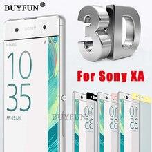 Для Sony Xperia XA F3111, F3113, F3115 случае Экран протектор х Glas 5,0 дюйма 3D полное покрытие для Sony XA Dual закаленное Стекло фильмы