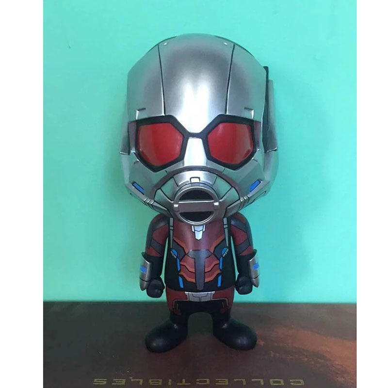 Anime Ant Man Bobble Head PVC Action Figure Collectible Model Toy 22cm KT3528  funko pop marvel deadpool 20 bobble head pvc action figure collectible model toy 4 10cm kt2203
