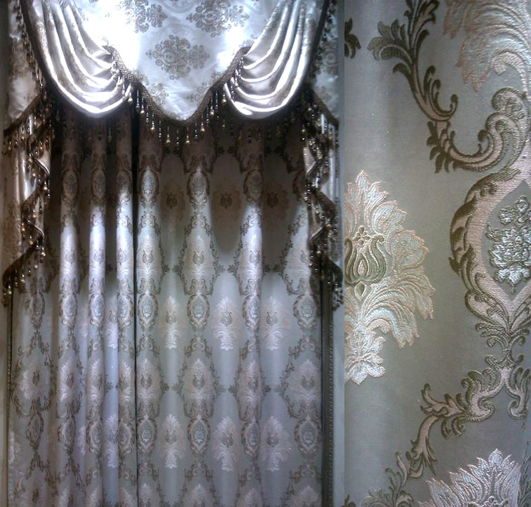 Curtains Home Application Embroidery Lace Curtain Luxury